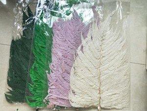 10pcs / bundle 50-70 cm Conservato Fern Flower per mestiere regalo materiale accessorio decorazione fiore organizzazione diy1