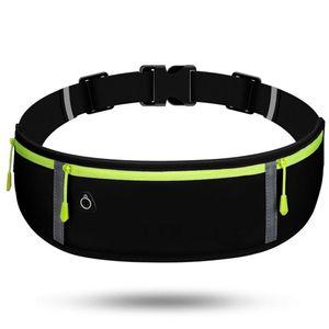 6.5 İnç Telefon Tutucu Bant Çanta Spor Bel Bandı Çanta Paketi Seyahat Koşu Bel Paketi Gym Fitness Bag Running Yansıtıcı Unisex