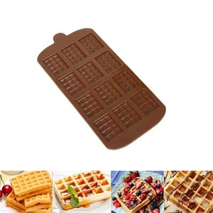 12 Even DIY Chocolate Chip Mold Waffle Pudding Baking Tool Decoration Bakeware Cake Tools