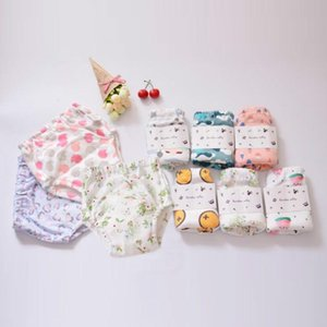 2020 Summer New Baby Training Pants Cotton Reusable Baby Diapers Waterproof Cloth Nappies Washable Diapers Bamboo Learning Pants