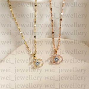 Fashion Women Gold Necklace Luxury C Letter Pendant Designer Necklace Women Necklace Designer Jewelry Party Necklaces