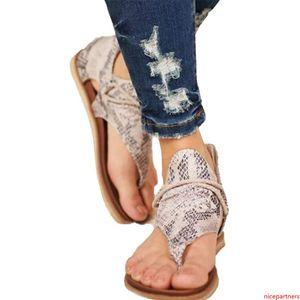 Floopi Sandals for Women Cute Open Toe Wide Elastic Design Summer Sandals Comfy Faux Leather Ankle Straps W Flat Sole Memory Foam 05
