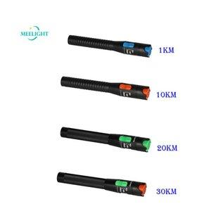 Source de lumière de stylo lumineux, outil de test de fibre optique 1km 10km 20km de 30 km de type SC / FC / ST Fibre Moteur de communication laser
