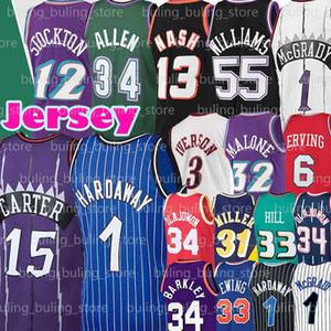 Grant 33 Hill Ewing Olajuwon Jersey Patrick Hakeem Steve 13 Nash Tracy Penny 1 Hardaway McGrady Charles Jason Barkley John Williams Stockton