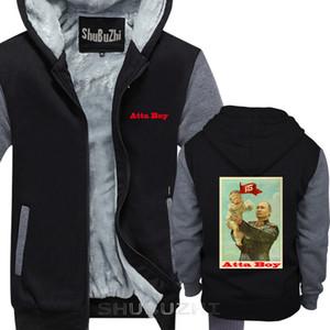 algodão Good Boy engraçado Vladimir Putin Donald Trump bebê Homens Pretos revestimento morno shubuzhi Cotton Vintage jaqueta grossa X1022 sbz5506