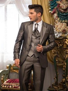 Fashion Mens Suits Event Stage Suits Wedding Best Man Groomsmen Tuxedos Custom