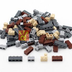 MOC İl Yapı DIY Blok Tuğla Duvar Tuğla Enlighten Eğitim Yapı Taşları Parçaları Uyumlu Tüm Markalar Yaratıcı Çocuklar Oyuncak 1008