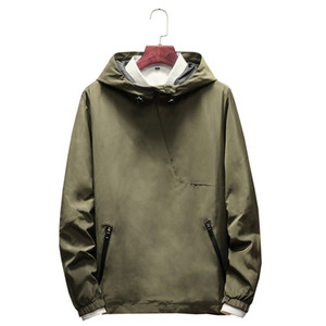 wetailor New Brand Felpa uomini felpe con cappuccio Inverno solido con cappuccio Mens Hip Hop hoodies Pullover Uomo Casual Tute Masculino