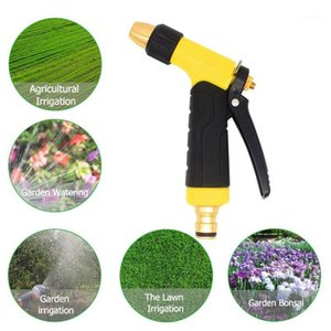Garden Hoses Household High Pressure Car Washing And Cleaning Toilet Water Gun Manufacturer Direct Sale Horticultural Irrigation Fores1