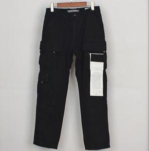 20FW Badge Patchs Hommes Pantalon Pant Lettres Designer Mode Jogger Pantalons de cargaison Pantalons Fly Pantalons Long Pantalons Homme Vêtements Taille 30-36