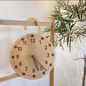 부엌 벽 아트에 대 한 목조 자동 시계 홈 장식 벽시계 디지털 장식 큰 현대 시계