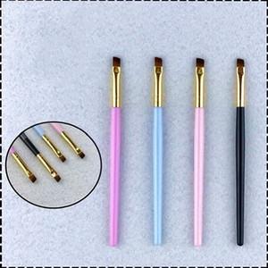 NEW maquillage Single makeup brush make-up tools eyebrow bush Makeup Brushes 4color eyebrow-brush dhl free shipping