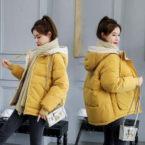 2021 Fashion Parka Women Hooded Winter Jacket Loose Cotton padded Womens Coat Warm Thick Female Casual Plus Size Overcoat 3XL