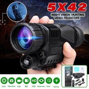 5x40 HD Digital Night Vision Monocular Video Telescope Camera FMC Infrared Goggle Scope Rechargebale Digital Cameras Outdoor Use