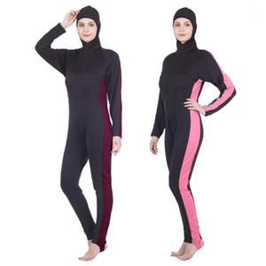 Полное тело женщины гидрокостюм для серфинга плавание плавание дайвинг парусная одежда подводное плавание холодной воды триатлон мокрый костюм плавать комбинезон1