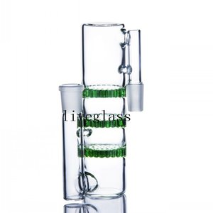 Blue Removable Ash Catcher Hookahs Smoking Accessories Glass Beaker Bongs Assemble Shisha Recycler with Stereo Matrix Oil Burner Rigs Pipes