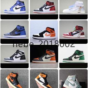 AIR SnakeaskinИорданияРетро 1 качество кроссовок мужчины женщины летать баскетбольные кроссовки Chaussures Разрушенного Backboard