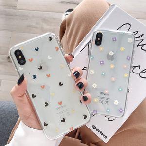 ins daisy phone case Huawei P40 P30 Pro P20 Lite Mate P smart 2019 Nova 5t for Honor 20 8X 10 9X 30 Soft Back Cover