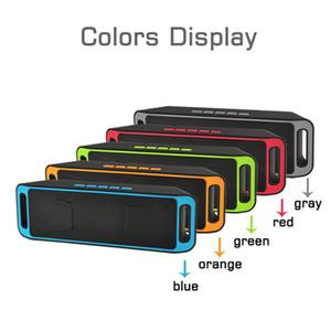 Multifunzione Disk SC-208 TF / USB portatile mini Bluetooth senza fili dell'altoparlante di sostegno TF / disco / Radio USB FM