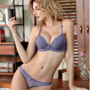 Brand 2019 Hot Seamless Set 3 4 adjustable Push up VS Bra Lingerie Underwear Sets For Women 70-85A B C D Cup Y200708