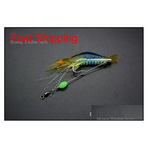 8cm 5g Fishing Lure Simulation With Hook Luminous Prawn Soft Bait Shrimp Road Ya Bait With Luminous Beads Simulat qylVnN five2010