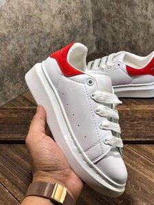 2020 high Velvet kids shoes chaussures Platform Casual Shoes Designeralexander boxmcqueen enfants size 24-3 e8ae#