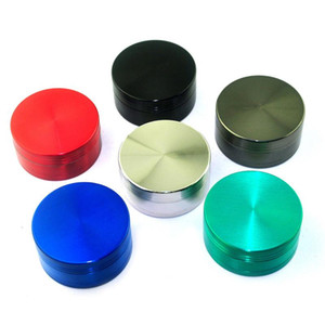 wholesale cheap 40mm 50mm 55mm 63mm metal herb grinder for smoking tobacco grinders for dry herbal free shipping