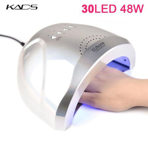 KADS 48W UV Led Lamp Nail Dryer For All Gels 30 leds Nail Art Lamp Auto Sensor Sun Light Timer 5 30 60s Manicure Salon Tool