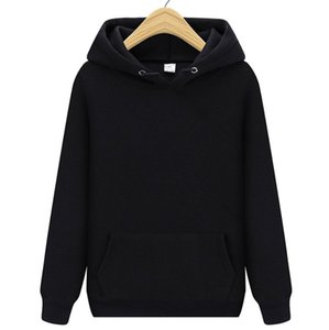 High Quality women Men Hoodie 2021 Autumn Hip Hop Streetwear Men Pullover Sweatshirts Hoodies Mens Solid Color Hoodie Male S-XXXL