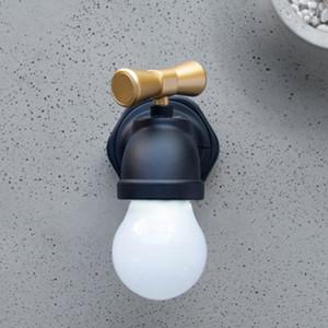 Musluk gece lambası akıllı ses kontrol indüksiyon usb şarj koridor koridor led musluk gece lambası