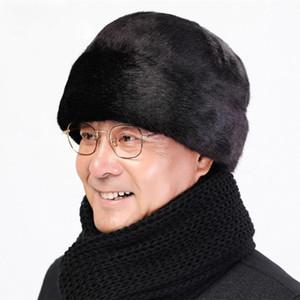 40 # mens inverno quente proteção fria e chapéu à prova de vento chapéu de pelúcia chapéu à prova de vento chapéu à prova de vento de pelúcia verde tampa inverno frio frio
