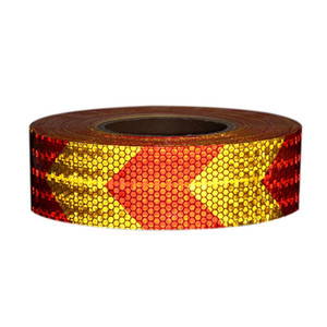 Arrow Safety Warning Conspicuity Reflective Tape Strip Sticker car