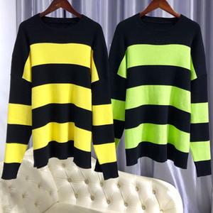 Berühmte Herren-Pullover Männer und Frauen stilvolle hochwertige Langärmeln Strickpullover Hip Hop High Street Pull Jumper Winter Pullover