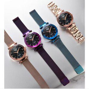 2021 Wlisth Top Brand Relogio Feminino Women Watch Fashion Trend Starry Lady Clock Waterproof Stuents Quartz Womens Wristwatch