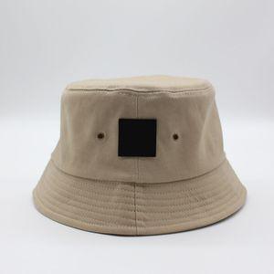 Fashion Bucket Hat 4 Season Cap Pattern Embtoidery Stingy Brim Hats Man Women Unisex Caps Sun Wind Protection 7 Color