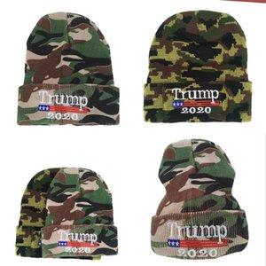 2020tump камуфляжная шерстяная шапка вышитая вязаная шляпа термическая пуловерная шляпа 8 5LM M2