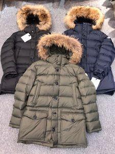 monclair moncle moncl 2020 5a Top versão de alta qualidade mens maya para baixo jaqueta windbreaker espesso hoodies quente casual moda casaco de inverno casacos tamanho s-3xl