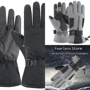 I26zt air Touch Screen ski glove Glove ski Mittens Autumn Girls Women Winter Warm Gloves Wrist Mittens Driving Ski Windproof woman