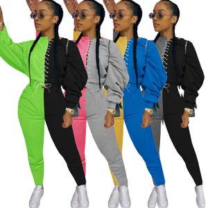 Hot Outfits Casual Tracksuits Loose Fitness Streetwear Two Piece Set reloj de lujo