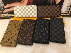 Designer Wallet Women Genuine Leather Handbags Purse Men Zippy Zipper Wallet Bags Clutch