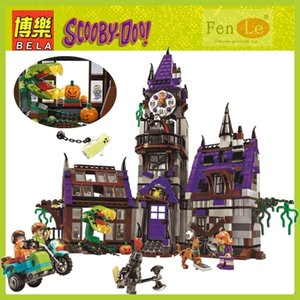 10432 Игрушки Scooby Doo Таинственный призрачный дом, совместимый с строительными блоками Кирпичи образовательные DIY игрушки для детей подарок LJ200925