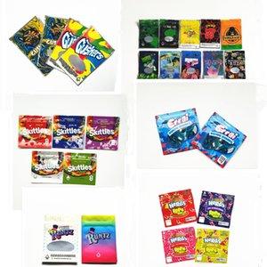 Nerds Rope Bite Joke's UP Wifi OG resinevil GORILLA GLUE Skittles 400mg Sour Gushers Blue Errlli Packing Bag