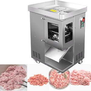 CE Factory Meat Slicer Slicing Machine Electric Meat Cutter Grinder Commercial Meat Cutting 220V 2.5mm-40MM