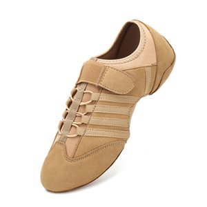 Modern Dance Woman Spring Latin Jazz Indoor Dancing Summer Breathable Sneakers Ladies Party Shoes for Women 201017