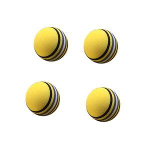 New-50Pcs Bag Eva Foam Golf Product Yellow Sponge Indoor Golf Practice Ball