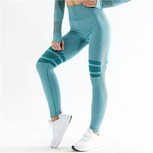 Pantaloni da donna senza cuciture per la vita alta vita hip hip traspirante rapido asciugatura jogger fitness donne pantaloni sportivi