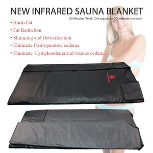 Nouveau modèle unique zone de chauffage Thérapie Extrême-corps infrarouge Minceur Sauna Couverture Slim Sac SPA drainage lymphatique corps machine Detox