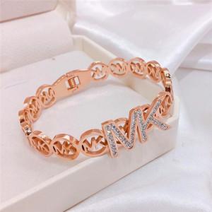 Simple Titanium Steel Roman Digital Bracelet Personality Jewelry Girlfriends Charm Bracelets With Women Girl Bangle Link