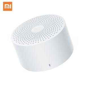 Оригинальный Xiaomi Mijia Bluetooth Speaker Беспроводной портативный мини Bluetooth Speaker Stereo Bass AI управления с микрофоном HD качества вызовов