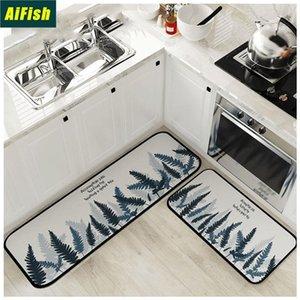 Carpet Bedroom Living Room Door Mat Bedside Blanket Kitchen Floor Mat Long Strip Anti-Slip Foot Bathroom Alfombra Z018-4